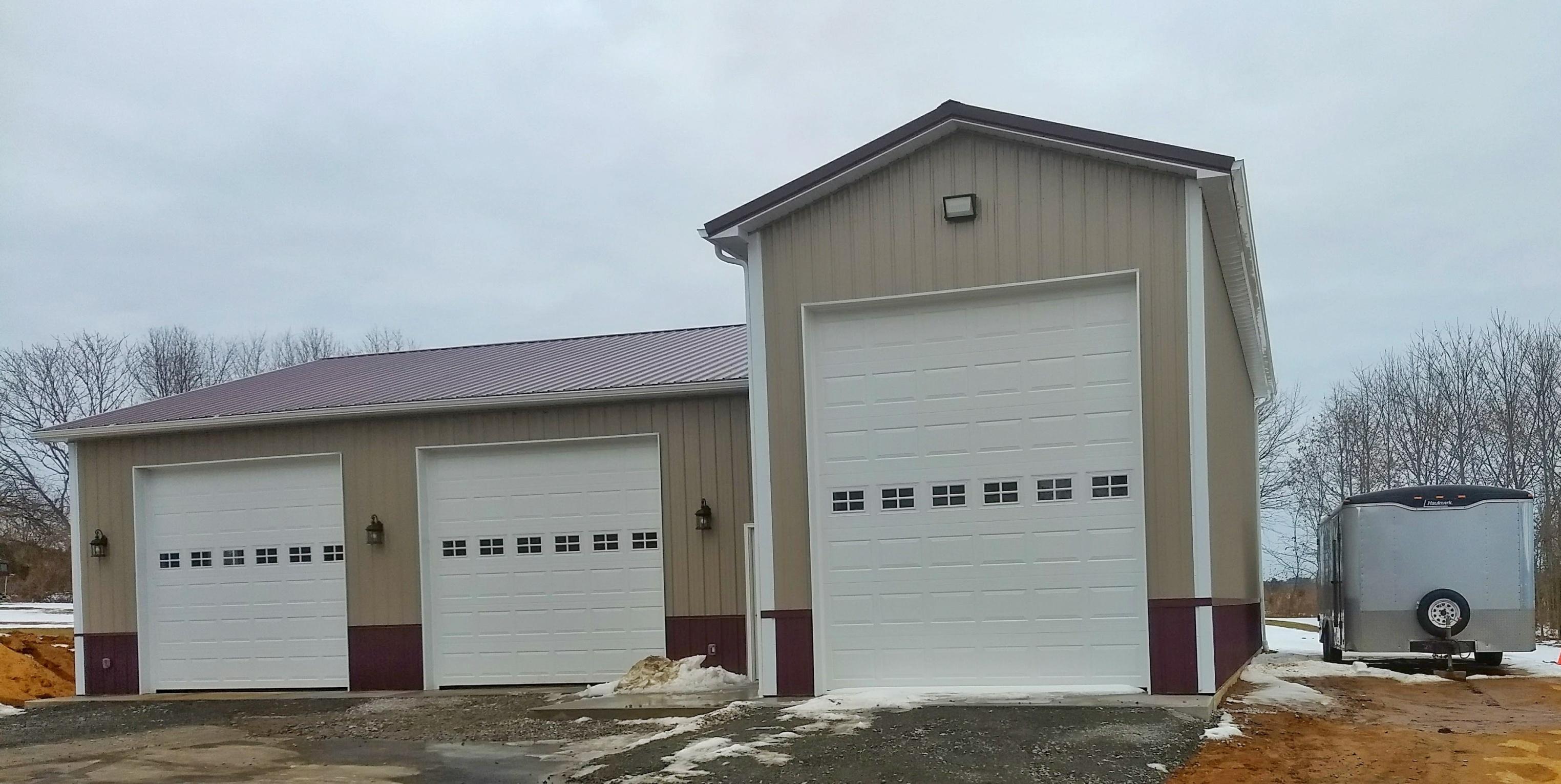 garage projects - Pole Garage